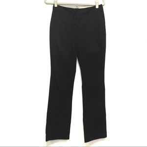 THE LIMITED STRETCH BLACK TROUSER PANTS